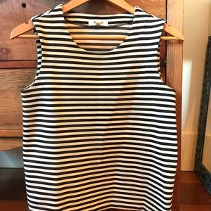 Structured Striped Madewell Top